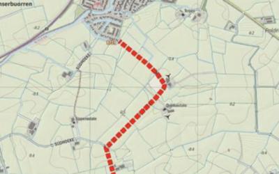 Verkeersafsluiting deel Súdhoeke vanaf 7 december
