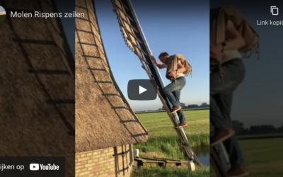 Filmkes by artikel doarpskrantsje oer Molen Rispens
