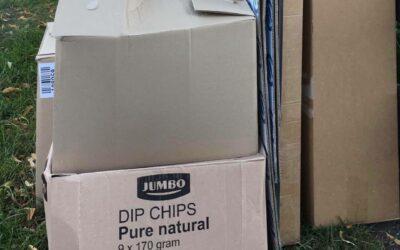 Ald papier: sels yn de kontainer bringe (7-9 jannewaris)