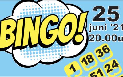 25 juni 20:00 uur: Spetterende bingo ten bate van Zwembad de Klomp